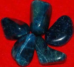 5 Tumbled Apatite Stones #3