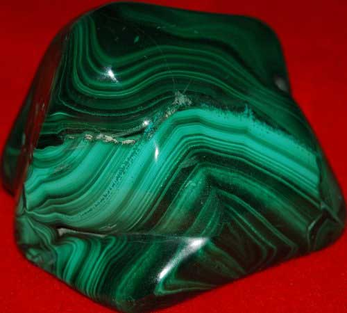Malachite Freeform #6