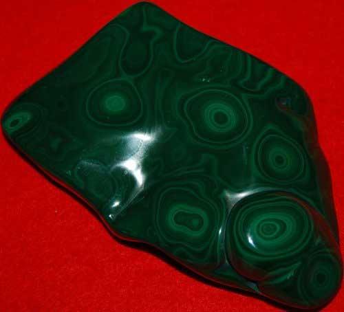 Malachite Plate