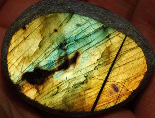 Labradorite Ema Egg #11
