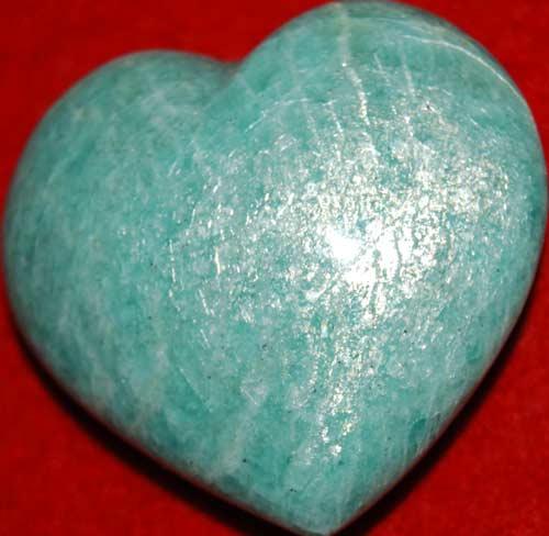 Amazonite Heart #1