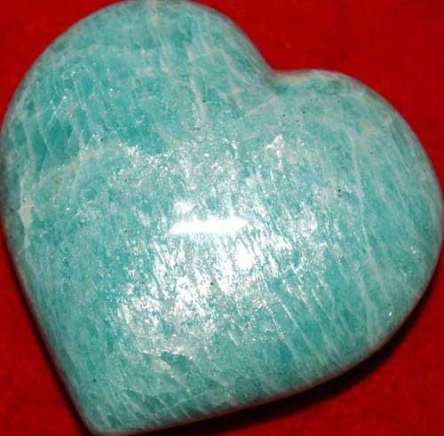 Amazonite Heart #5
