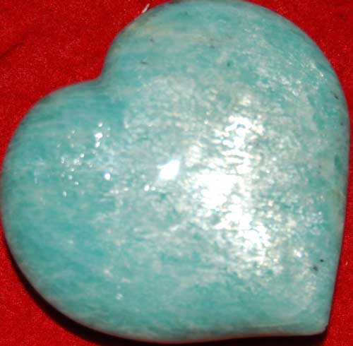 Amazonite Heart #7
