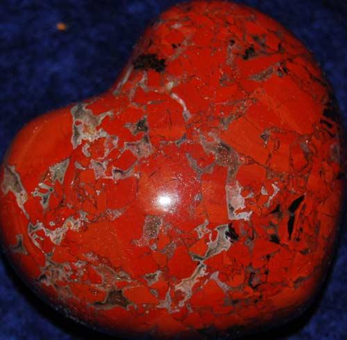 Brecciated Jasper Heart #5