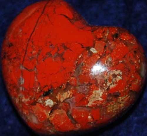 Brecciated Jasper Heart #6