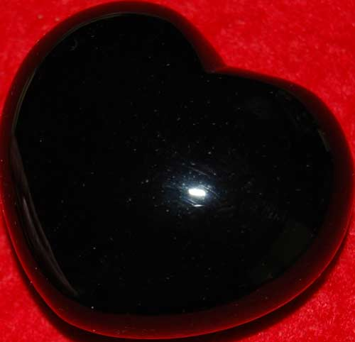 Black Onyx Heart #1
