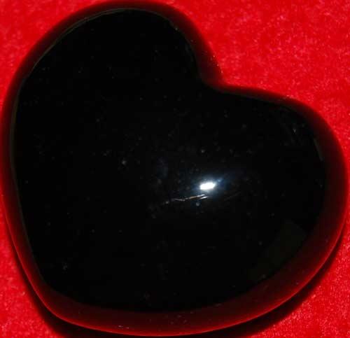 Black Onyx Heart #2