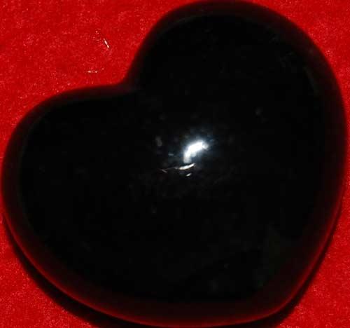 Black Onyx Heart #4