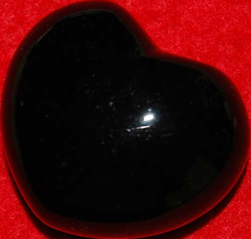 Black Onyx Heart #6
