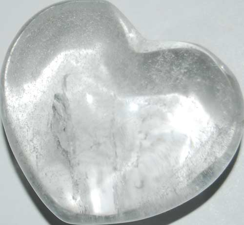 Clear Quart Heart #1