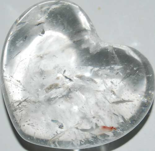 Clear Quart Heart #2