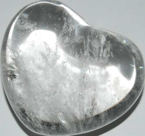 Clear Quart Heart #3