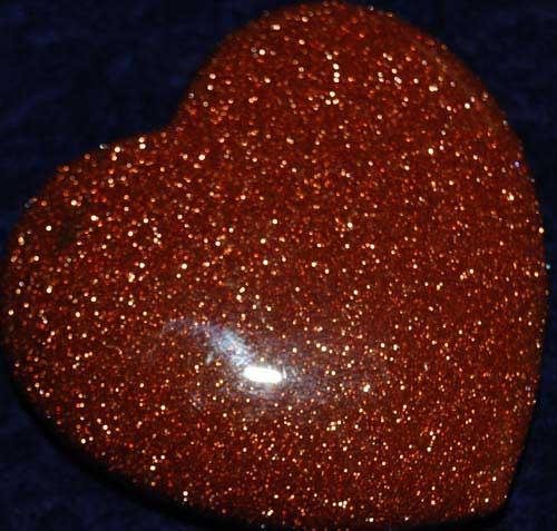 Goldstone Heart #1