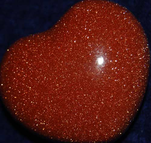 Goldstone Heart #4