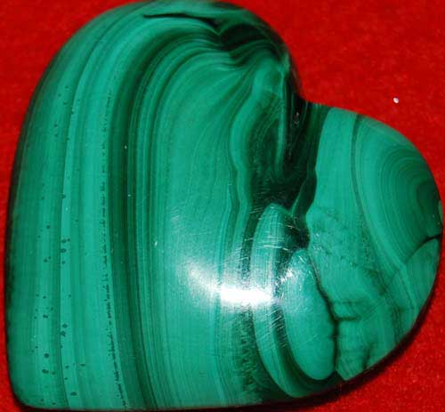 Malachite Heart #1