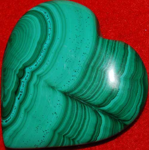 Malachite Heart #4