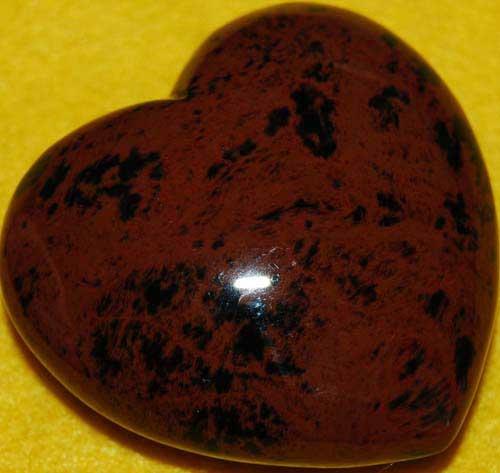 Mohagany Obsidian Heart #5