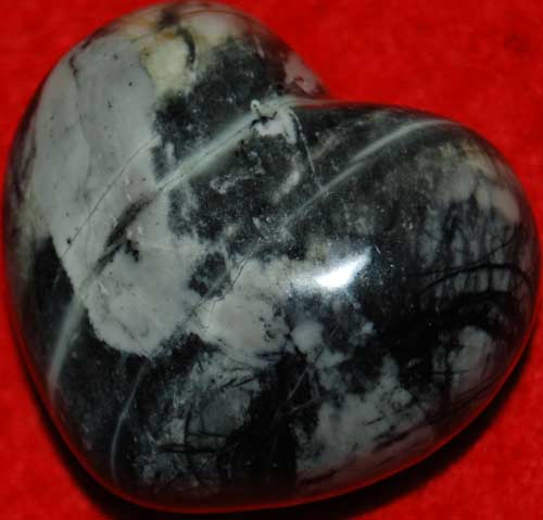 Picasso Marble Heart #1