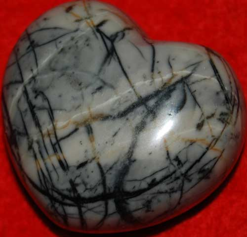 Picasso Marble Heart #8