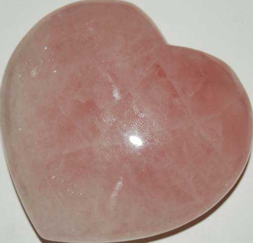 Rose Quartz Heart #7