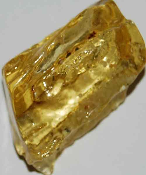 Amber Palm Stone #12