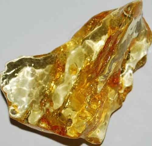 Amber Palm Stone #17