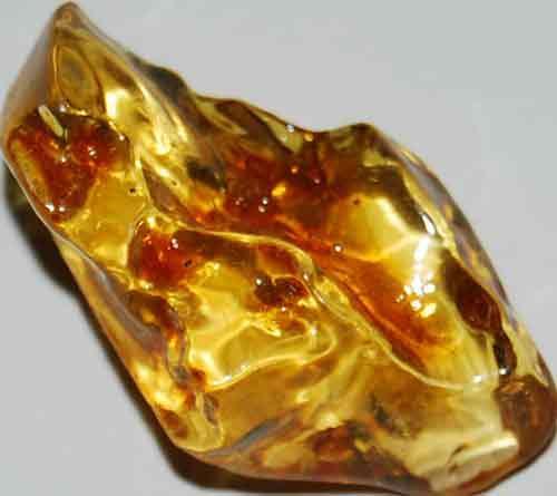 Amber Palm Stone #3
