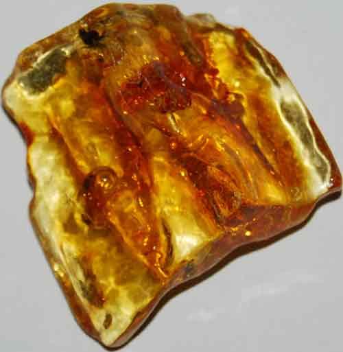 Amber Palm Stone #8