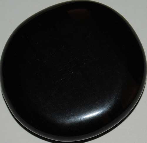 Black Lace Obsidian Palm Stone #4