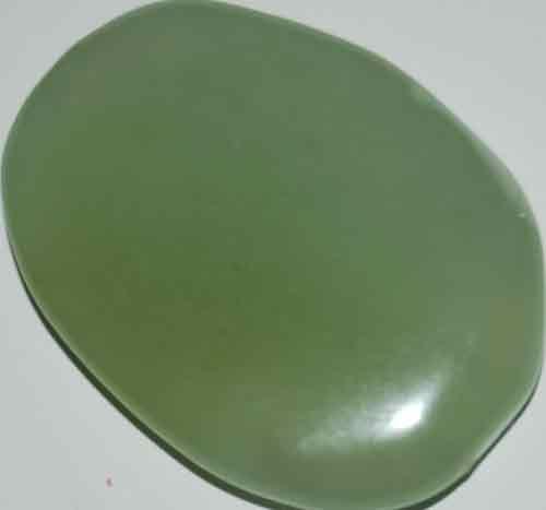Bowenite/New Jade Palm Stone #10