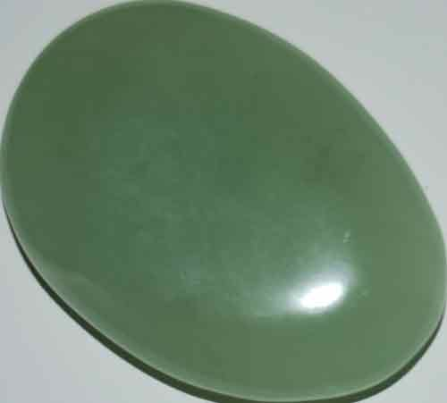 Bowenite/New Jade Palm Stone #16