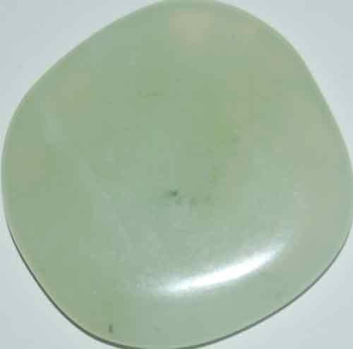 Bowenite/New Jade Palm Stone #1