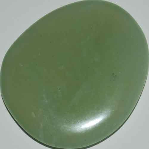 Bowenite/New Jade Palm Stone #7