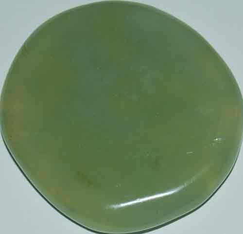 Bowenite/New Jade Palm Stone #8