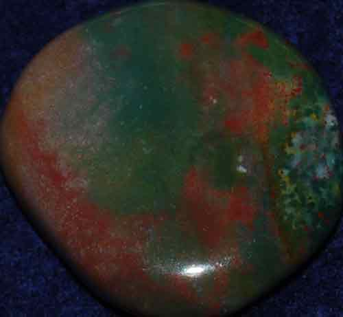 Bloodstone Palm Stone #6
