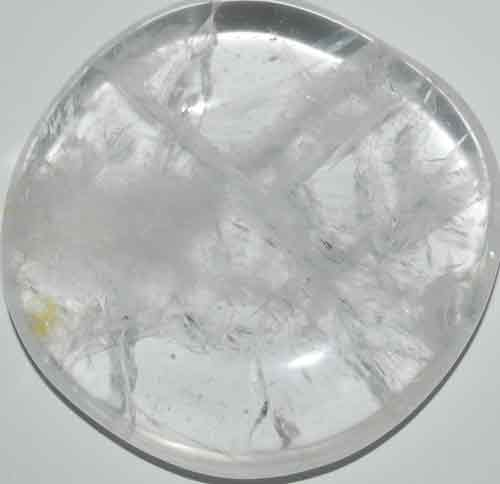 Clear Quartz Palm Stone #13
