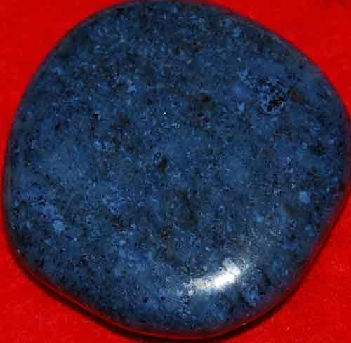 Dumortierite Palm Stone #9