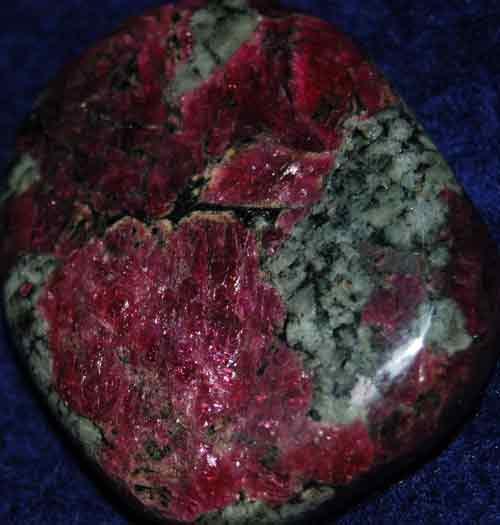 Eudialyte Palm Stone #15