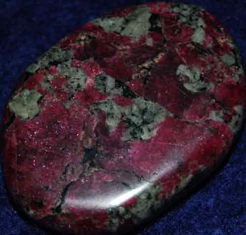 Eudialyte Palm Stone #5