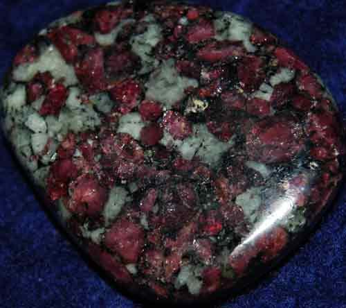 Eudialyte Palm Stone #6