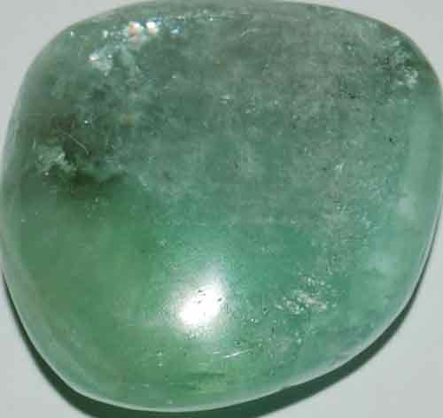 Green Calcite Palm Stone #2