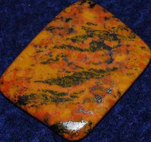Hematite Jasper Palm Stone #3