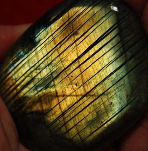 Large Labradorite Palm Stone #7