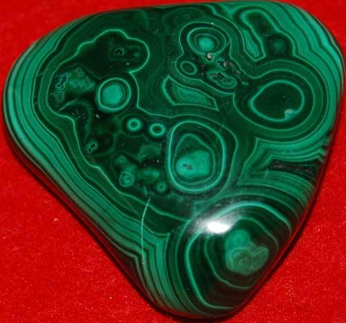 Malachite Palm Stone #10
