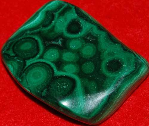 Malachite Palm Stone #11