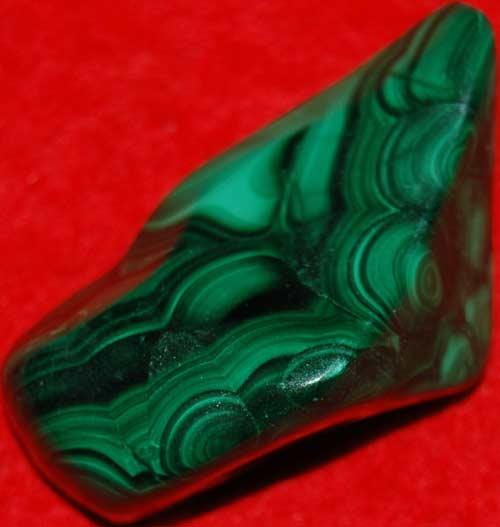 Malachite Palm Stone #13