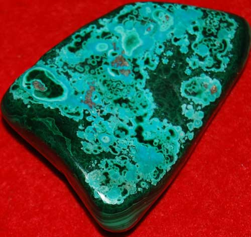 Malachite Palm Stone #16