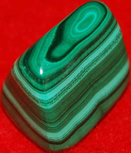 Malachite Palm Stone #30