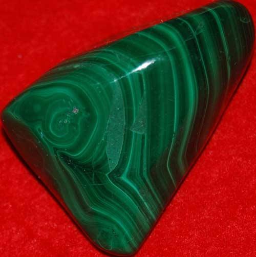 Malachite Palm Stone #9