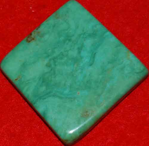 Mexican Green Turquoise Palm Stone #12